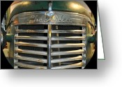 Chev Pickup Greeting Cards - 1940 Chevrolet Pickup l Greeting Card by Daryl Macintyre