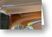 Mascots Greeting Cards - 1941 Packard Hood Ornament 2  Greeting Card by Jill Reger