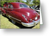 1947 Cadillac Greeting Cards - 1947 Cadillac . 5D16184 Greeting Card by Wingsdomain Art and Photography