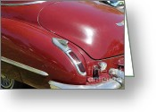 1947 Cadillac Greeting Cards - 1947 Cadillac . 5D16185 Greeting Card by Wingsdomain Art and Photography