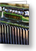 1947 Cadillac Greeting Cards - 1947 Cadillac Model 62 Coupe Radio Greeting Card by Jill Reger
