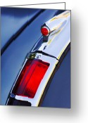 1947 Cadillac Greeting Cards - 1947 Cadillac Taillight  Greeting Card by Jill Reger