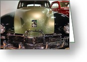 Cars Greeting Cards - 1947 Kaiser Greeting Card by Wingsdomain Art and Photography