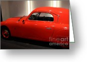 Imports Greeting Cards - 1948 Fiat 1100S - 7D17310 Greeting Card by Wingsdomain Art and Photography