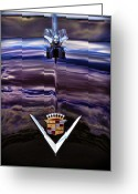Cole Greeting Cards - 1949 Cadillac Greeting Card by Gordon Dean II