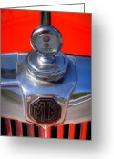 Td Greeting Cards - 1951 Mg Td Greeting Card by David Patterson