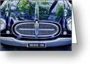 1952 Greeting Cards - 1952 Ferrari 212 Vignale Front End Greeting Card by Jill Reger