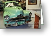 Ute Greeting Cards - 1953 FJ Holden Ute Greeting Card by Kaye Menner