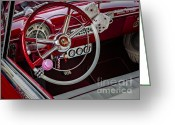 Logos Greeting Cards - 1953 Ford Crestline Victoria Greeting Card by Susan Candelario