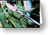 Pdx Greeting Cards - 1956 Mercury Montclair Greeting Card by Cathie Tyler
