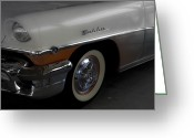 Antique Cars Greeting Cards - 1956 Mercury Montclair  Greeting Card by Steven  Digman
