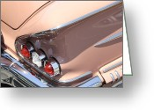 Street Rod Greeting Cards - 1958 Chevrolet Greeting Card by Mike McGlothlen