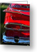 Dash Greeting Cards - 1959 Chevy El Comino  Greeting Card by Peter Piatt