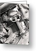 Motorcycle Photo Greeting Cards - 1959 Ducati Americano Greeting Card by Marley Holman