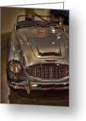 Austin Healey Photo Greeting Cards - 1960 Austin Healey  Greeting Card by Douglas Barnard