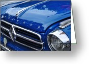 Collectors Car Greeting Cards - 1960 Borgward Isabella Coupe Greeting Card by Kaye Menner
