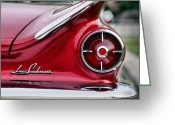 Brake Greeting Cards - 1960 Buick LeSabre Greeting Card by Gordon Dean II