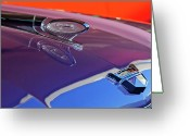 Car Mascot Greeting Cards - 1960 Ford Starliner Hood Ornament Greeting Card by Jill Reger