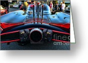Gotham City Greeting Cards - 1960s Batmobile - 1 Greeting Card by Paul Ward