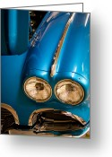 Mascots Greeting Cards - 1961 Chevrolet Corvette III Greeting Card by David Patterson
