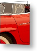 Mercedes Benz 300 Sl Classic Car Greeting Cards - 1962 Mercedes-Benz 300 SL Roadster Greeting Card by Jill Reger