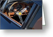 Professional Greeting Cards - 1963 Apollo Steering Wheel     Greeting Card by Jill Reger