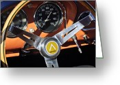 Professional Greeting Cards - 1963 Apollo Steering Wheel 2 Greeting Card by Jill Reger
