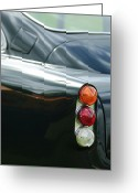 V Greeting Cards - 1963 Aston Martin DB4 Series V Vantage GT Tail Light Greeting Card by Jill Reger