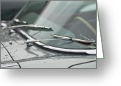 Jaguar E Type Greeting Cards - 1965 Jaguar E-Type Roadster Wipers Greeting Card by Jill Reger