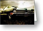 D700 Greeting Cards - 1965 Pontiac Bonneville Greeting Card by Phil
