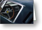 Auto Show Greeting Cards - 1967 Ferrari 275 GTB-4 Berlinetta Greeting Card by Jill Reger