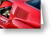 Chrome Jet Greeting Cards - 1967 Ford Mustang GT  Greeting Card by Gordon Dean II