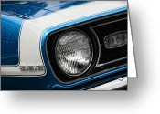 Ss396 Greeting Cards - 1968 Chevy Camaro SS 396 Coupe Greeting Card by Gordon Dean II