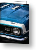 Camaro Greeting Cards - 1968 Chevy Camaro SS 396 Greeting Card by Gordon Dean II