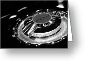 Drag Greeting Cards - 1968 Dodge Charger Fuel Cap Greeting Card by Gordon Dean II