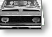 Chrome Jet Greeting Cards - 1968 Ford Mustang Shelby GT500 KR - King of the Road Greeting Card by Gordon Dean II
