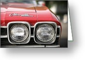 Ss396 Greeting Cards - 1969 Chevrolet Chevelle SS 396 Greeting Card by Gordon Dean II
