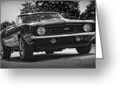 Cowl Greeting Cards - 1969 Chevy Camaro SS Greeting Card by Gordon Dean II