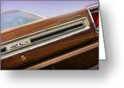 Runner Greeting Cards - 1969 Plymouth GTX Greeting Card by Gordon Dean II