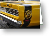 Race Car Photo Greeting Cards - 1969 Super Bee Greeting Card by David Lee Thompson