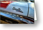 Ss396 Greeting Cards - 1970 Chevy Chevelle SS 396 SS396 Greeting Card by Gordon Dean II