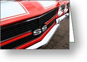 Ss396 Greeting Cards - 1970 Chevy Chevelle SS Greeting Card by Gordon Dean II