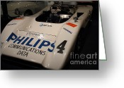 Imports Greeting Cards - 1971 McLaren M8E Racecar - 7D17287 Greeting Card by Wingsdomain Art and Photography