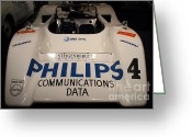 Imports Greeting Cards - 1971 McLaren M8E Racecar - 7D17288 Greeting Card by Wingsdomain Art and Photography