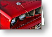 Bad Dream Greeting Cards - 1971 Plymouth Hemi Cuda Greeting Card by Gordon Dean II