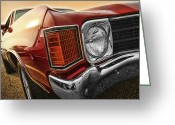 Ss396 Greeting Cards - 1972 Chevrolet Chevelle SS  Greeting Card by Gordon Dean II