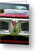 Window Art Digital Art Greeting Cards - 1972 Dodge Charger 400 Magnum Greeting Card by Gordon Dean II