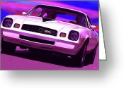 Motown Greeting Cards - 1978 Chevy Camaro Z28 Greeting Card by Gordon Dean II
