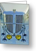 Vintage 1985 Greeting Cards - 1985 Tiffany Coupe Grille Greeting Card by Jill Reger