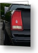 Lay Greeting Cards - 1988 Monte Carlo SS Tail Light Greeting Card by Paul Ward